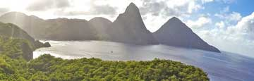 St Lucia, St Lucia Resorts and Hotels